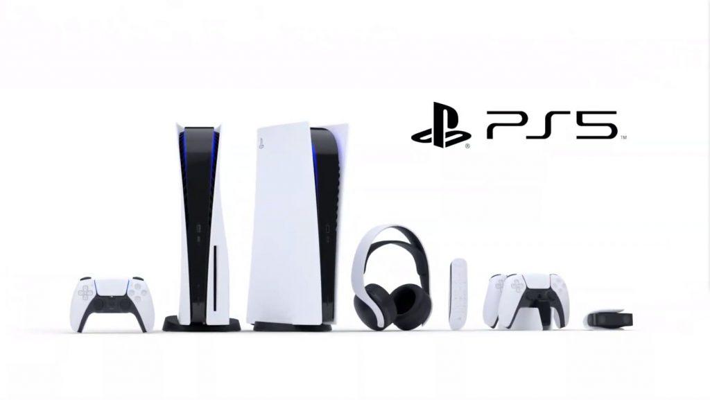 Playstation 5 och tillbehör.