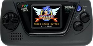 Sega Game Gear Micro svarta modellen